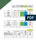 Plantilla Analisis de Costo Unitario Libro Victor 13-10