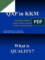 QAP in KKM