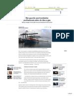 O GLOBO Mar Guarda Oportunidades Profissionais Além Do Óleo e Gás