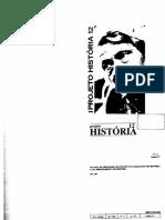 THOMPSON, E. P. Projeto História