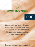 27 - Amor Que Vence.ppsx