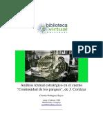 Análisis de Cortazar, Julio. Análisis de continuidad de los parques150586.pdf