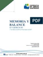 Memoria y Balance 52