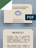 Proyecto y Presupuesto
