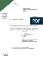 Postulación de Chamamé Como Patrimonio de La Humanidad- Technical Completeness Notification