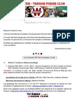 Newsletter n°34 - 2017 (15 octobre 2017)