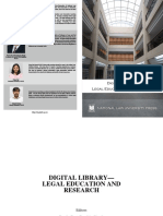 Legal Education and Research