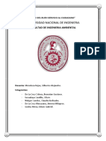 Determinacion de Coliforme Fecales en Las Manos de Los Estudiantes de La Fia Despues de Salir de Los Servicios Higienicos