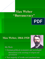 Bureaucracy and Status