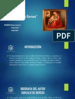 Gonzalo de Berceo Power Point