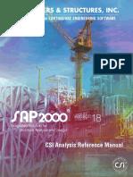CSI Analysis Reference Manual - 2015