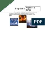 Efectos de Las Actividades Humanas en Los Ecosistemas