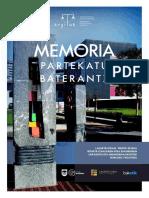 MEMORIA PARTEKATU BATERANTZ (ARGITUZ)