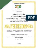 Cours Analyse Des Données