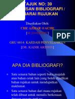 Penulisan Bibliografi (Format Apa [Che Azhar Ahmad])