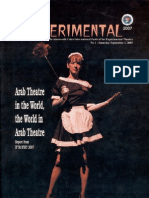 The Experimental - English-Language Daily of the Cairo International Festival for Experimental Theatre - 2007 Edition