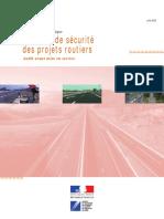 """Contr""""Le de s'Curit' Des Projets Routiers - Audit Avant Mise en Service"""