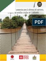 Cartilla Escuela de Cultura Campesina Catatumbo
