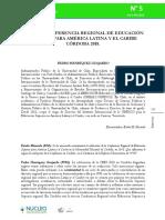 Camino a la Tercera Conferencia Regional.pdf