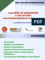Ingenieria de Quemadores a Gas Natural