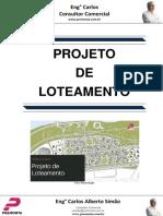 Projeto de Loteamento