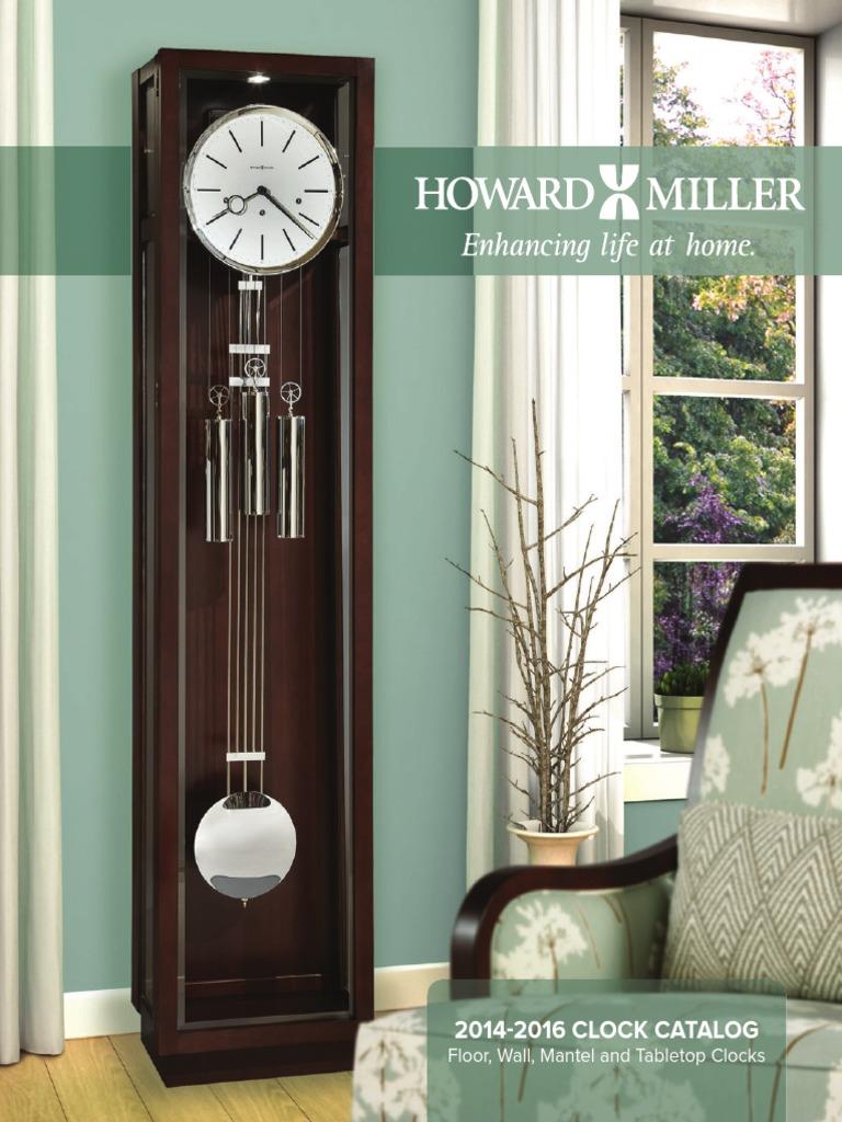 2014 Howard Miller Clock Cataloglores125dpi Clock Door