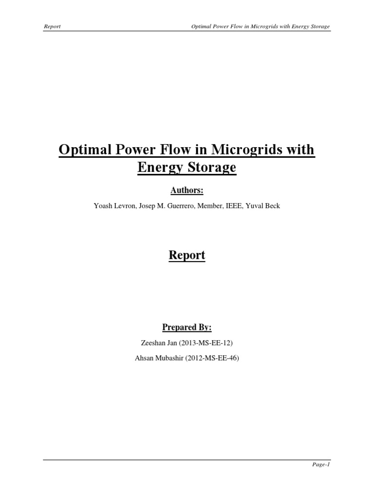 237300418-Microgrid-Optimal-Power-Flow-MATLAB-Simulation docx