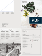 Dig Inn opening menu —Prudential Center location