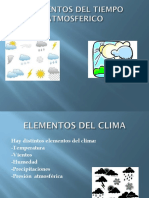Elementos Del Tiempo Atmosferico
