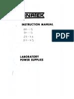 Anatek Instruction Manual