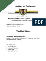 Plan de Desarrollo Economico Prosperidad Para Todos Juan Manuel Santos 2010 - 2014