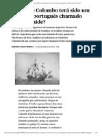 Print Cristóvão Colombo Fernando BrancoHistória
