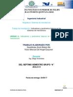 (Aryoli y Victor)Unidad-II-Indicadores YParametros Basicos en Los Sistemas de Manufactura