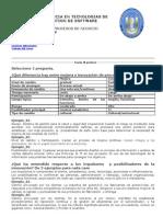Exámen Parcial PENDIENTE - EPG CHICLAYO BPM 2010