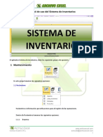 Manual Sistema de Inventarios