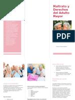 Derechos Del Adulto Mayor en Chile