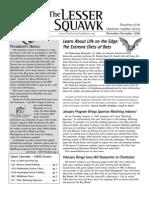 Nov-Dec 2006 Lesser Squawk Newsletter, Charleston Audubon