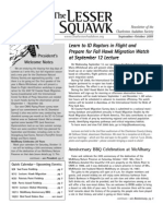 Sept-Oct 2007 Lesser Squawk Newsletter, Charleston Audubon