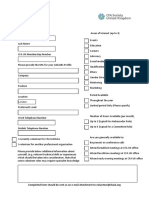 Volunteer Form 11a