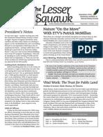 September-October 2008 Lesser Squawk Newsletter, Charleston Audubon