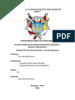 Informe N 3 CE