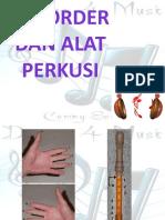 Rekorder Dan Alat Perkusi