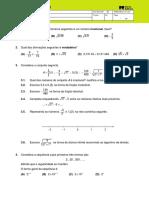 Ficha Matemática_T1 Números e Operações II