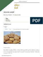 000Ghribat de Coco _ Recetas Halal