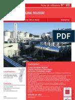 Récupération de solvants, charbon actif, régénération azote - Réduction des émissions de COV en Alsace (DEC IMPIANTI) - ADEME (fiche VII)