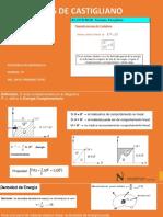 Semana 08 Teorema de Castigliano