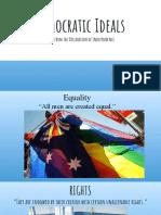 democratic ideals