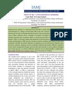 Management of IBS – a Psychosomatic Disorder JIWA