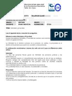 Taller de etica  septimo intimidad y privacidad.doc