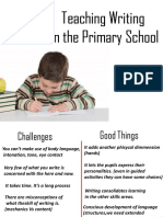 Teaching Writing in the Primary School
